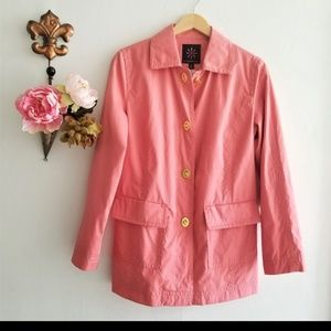 NWT Coral trench raincoat